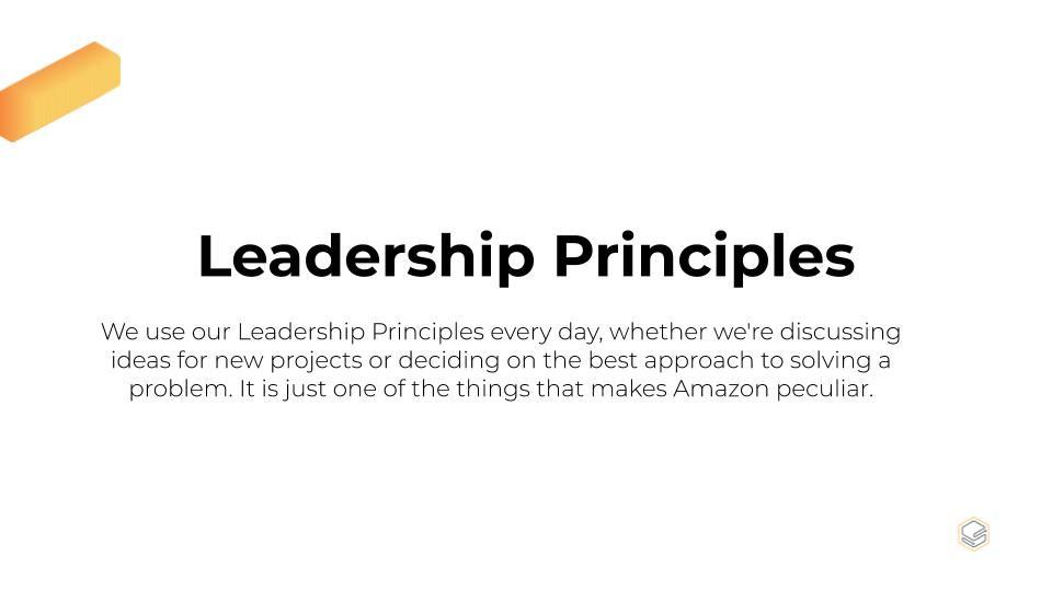 Amazon's Core Values: Leadership Principles | Skooldio Blog - Tech Giants: How culture shapes the way they do things